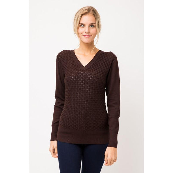 Nala Textured Pullover Sweater
