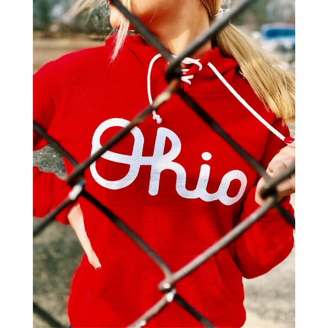 Ohio Lace Up Hoodie