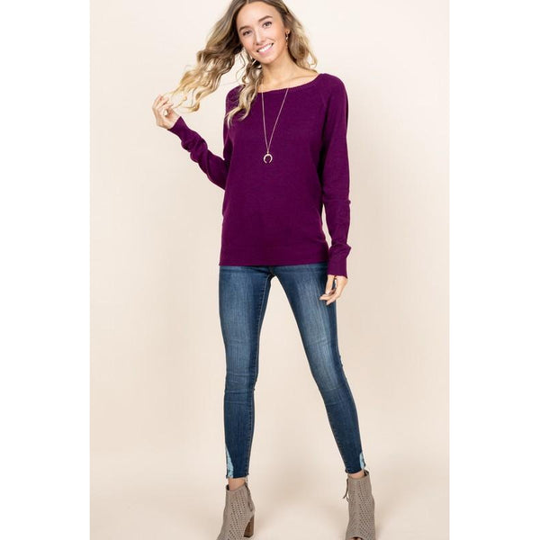 Serena Soft Knit Sweater