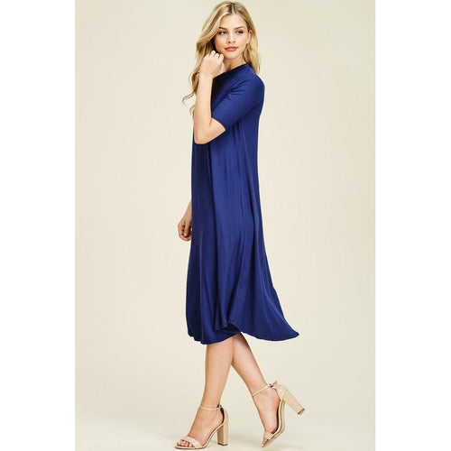 Millie Swing Dress- Curvy