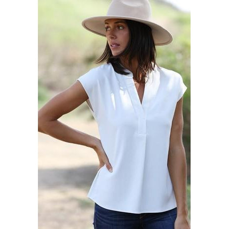Tamsin V-Neck Blouse