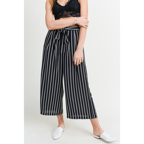 Ava Wide Leg Stripe Pants