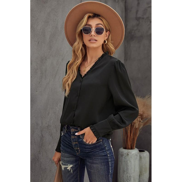 Sonya Button Up Blouse
