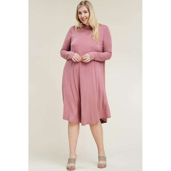 Christina Swing Dress- Curvy