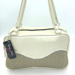 Tuck and Roll Tote Bag - Gold '65 Chevy Fabric / Oyster - Leopard Lining