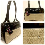 Lincoln Tote - Gold 65 Chevy / Grease Black - Leopard Lining