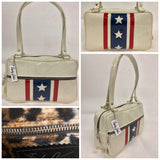 Evel Knievel Tote Bag - Leopard Lining