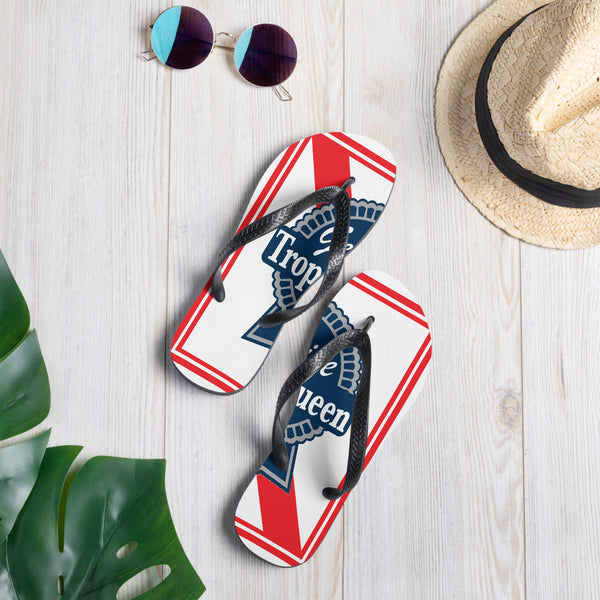 Blue Ribbon Flip-Flops