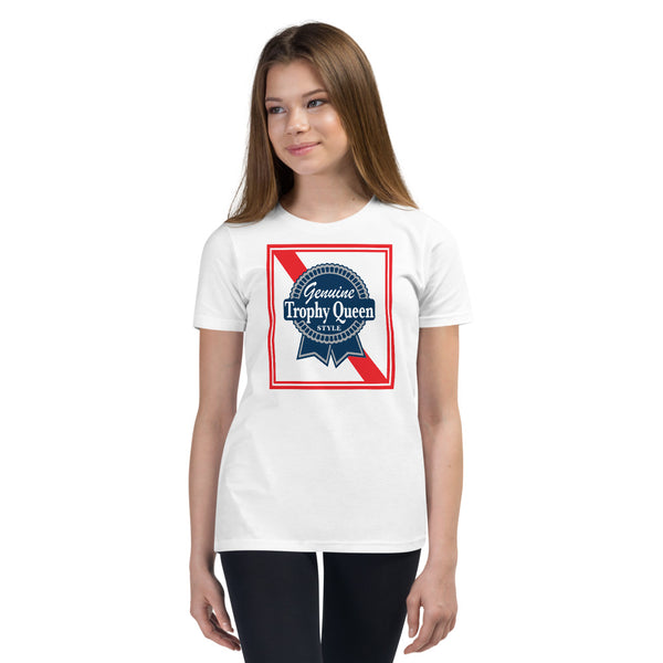 Blue Ribbon Logo Youth T-Shirt