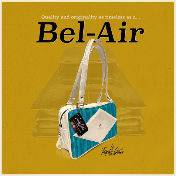 Bel-Air Features: Handcrafted in California Plush Leopard Lining Dimensions: 13
