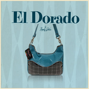 "El Dorado Features: Handcrafted in California Approx. Measures 12"" Across x 9"" Center Height x 2.5"" Wide (30.5cm x 23cm x 6cm) Inside Zipper Pocket Inside Open Divided Pocket 26"" Shoulder Strap Inside Hidden Serial Number Made to Order Ships from California in 2-3 Weeks"