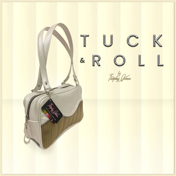 Tuck & Roll Features: Handcrafted in California Dimensions: 13
