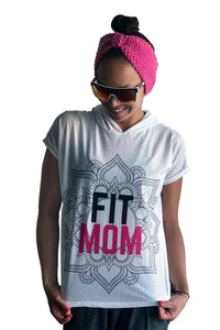 Capucha de malla BLANCA | FIT MOM