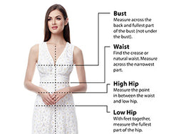 Last Call Bridal Measure Your Dress
