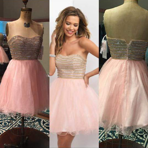 Size 6, 10, and 12, BLUSH Homecoming Dress X359, carnation