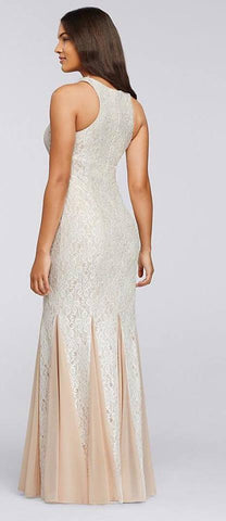 Size 2, 4, 14, and 16 Cahett, style 56646H, Ivory/Nude