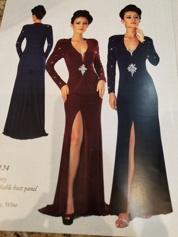 Porscha Couture, P124, Mother of the Bride