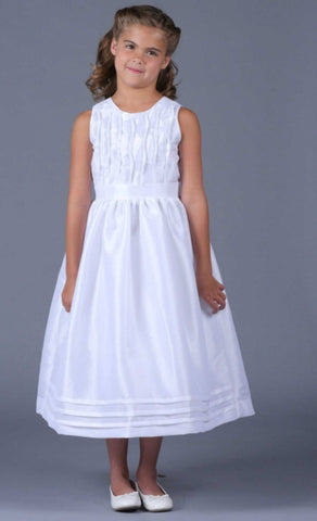 Isobella & Chloe size 10 white communion/flower girl dress