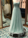 Jenny yoo sea shell tulle bridesmaid dresses
