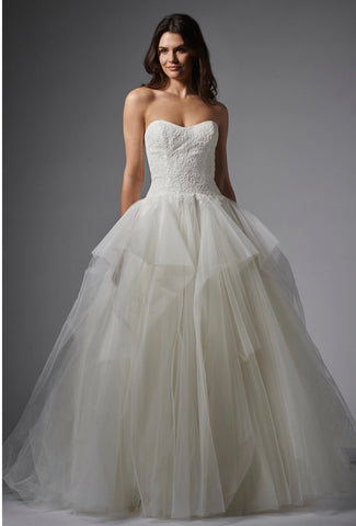 Wtoo style Cheryl size 14 lace and tulle ballgown