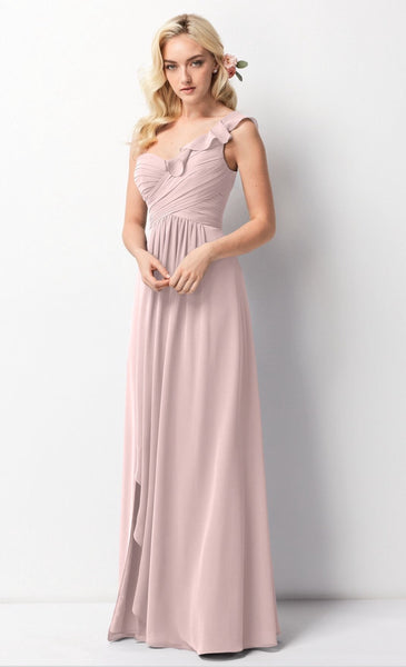 Wtoo size 18w style 201 light pink bridesmaid dress