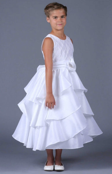 Isobella & Chloe size 8 first communion/flower girl