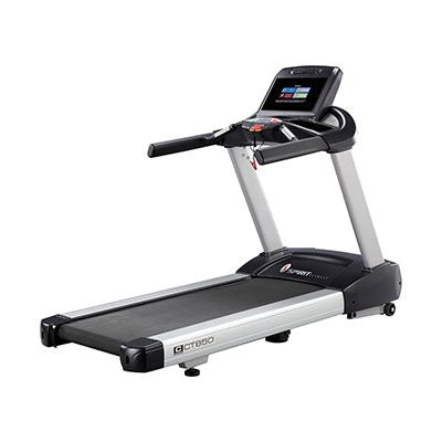 "Spirit CT850ENT Treadmill, 84"" x 35"" x 57"""