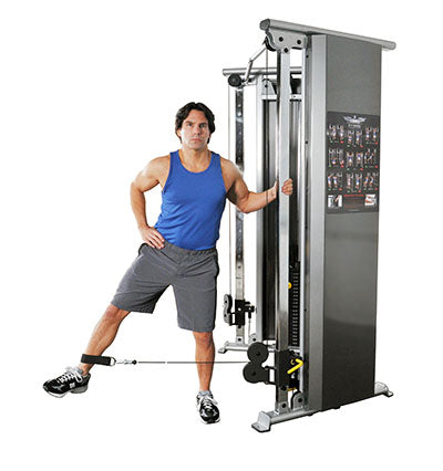 2-Stack Functional Trainer with REAR Shrouds