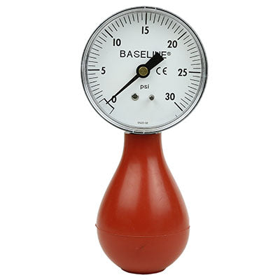 Baseline® Dynamometer - Pneumatic Squeeze Bulb - 30 PSI Capacity, with reset