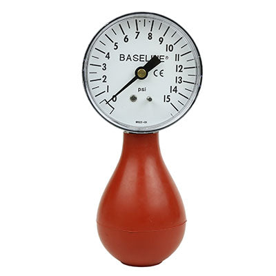 Baseline® Dynamometer - Pneumatic Squeeze Bulb - 15 PSI Capacity, no reset