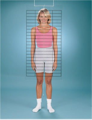 Baseline® Posture Evaluation - 2-piece Set - Evaluator and Grid