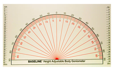 Baseline® Adjustable Wall Goniometer