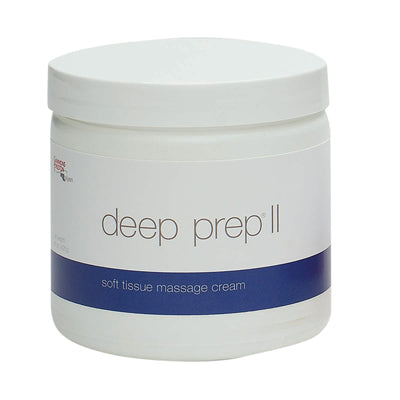 Deep Prep® Massage Cream - II cream, 15 oz jar