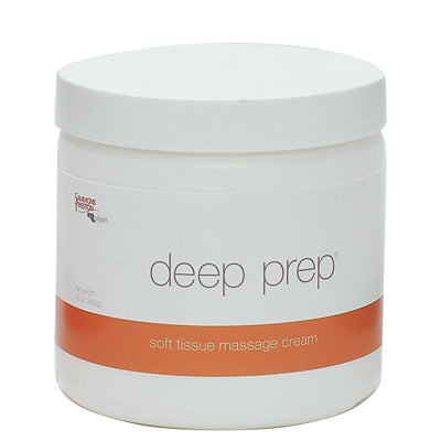 Deep Prep® Massage Cream - cream, 15 oz jar: