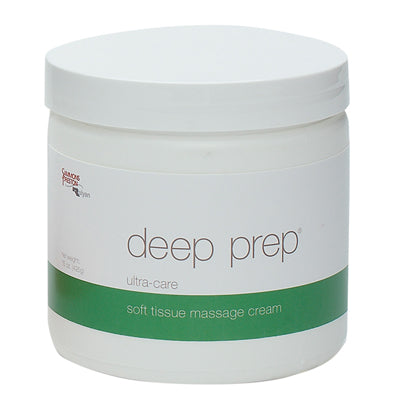 Deep Prep® Massage Cream - ultra care, 15 oz jar
