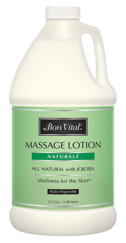 Bon Vital® Naturale Massage Lotion - 1/2 gallon bottle