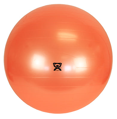 "CanDo® Inflatable Exercise Ball - Orange - 48"" (120 cm)"