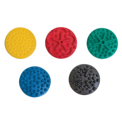 "CanDo® Progressive Instability Pad - 20"" diameter - 5-piece set (yellow, red, green, blue, black)"