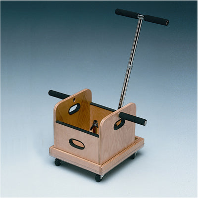 FCE Work Device - Mobile Weighted Cart with T-handle and Accessory Box