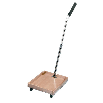 FCE Work Device - Mobile Weighted Cart with Straight Handle