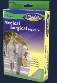 Medical Surgical Knee High Open Toe 20-30 mm/Hg