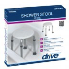 Shower Stool White