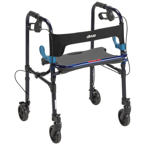 "Clever-Lite Walker, Adult with 5"" Wheels"
