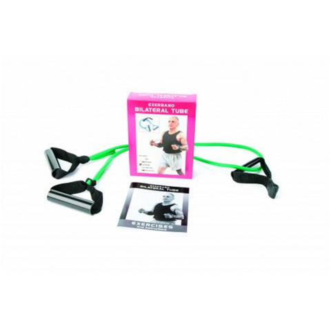 Bilateral Tube Exerband Pak (Green)