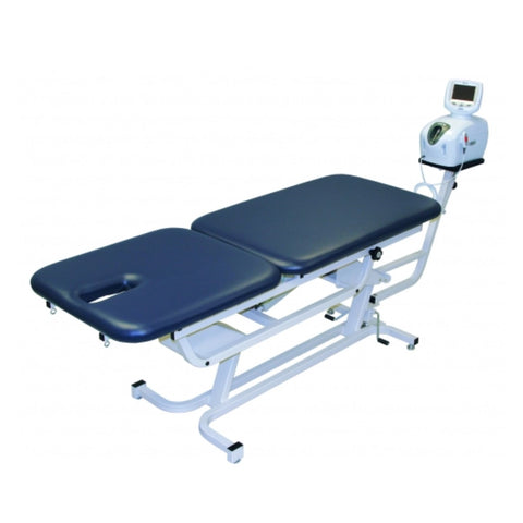 Chattanooga TTET-200 Electric Hi-Lo Traction Table with Footswitch and Casters