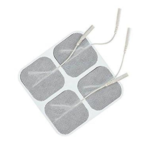 "White Cloth Electrodes 2"" X 2"" Square (40 PACK)"