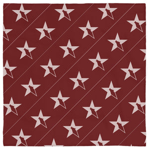 Lone Conservative Pet Bandana - Red