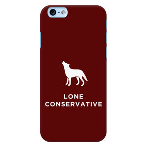 Lone Conservative Phone Case