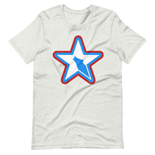 USA Star Short-Sleeve Unisex T-Shirt