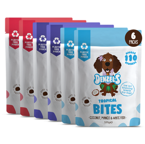 Fish Favourites of Bites - Soft 'n' Squishy Low Cal Training Treats (2 x of each)